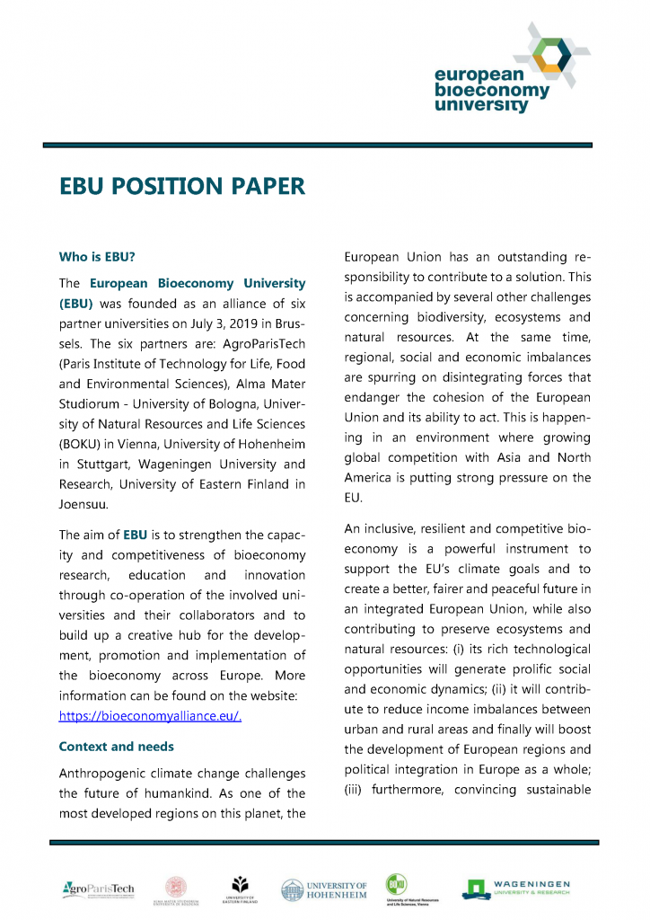 Preview EBU Position Paper